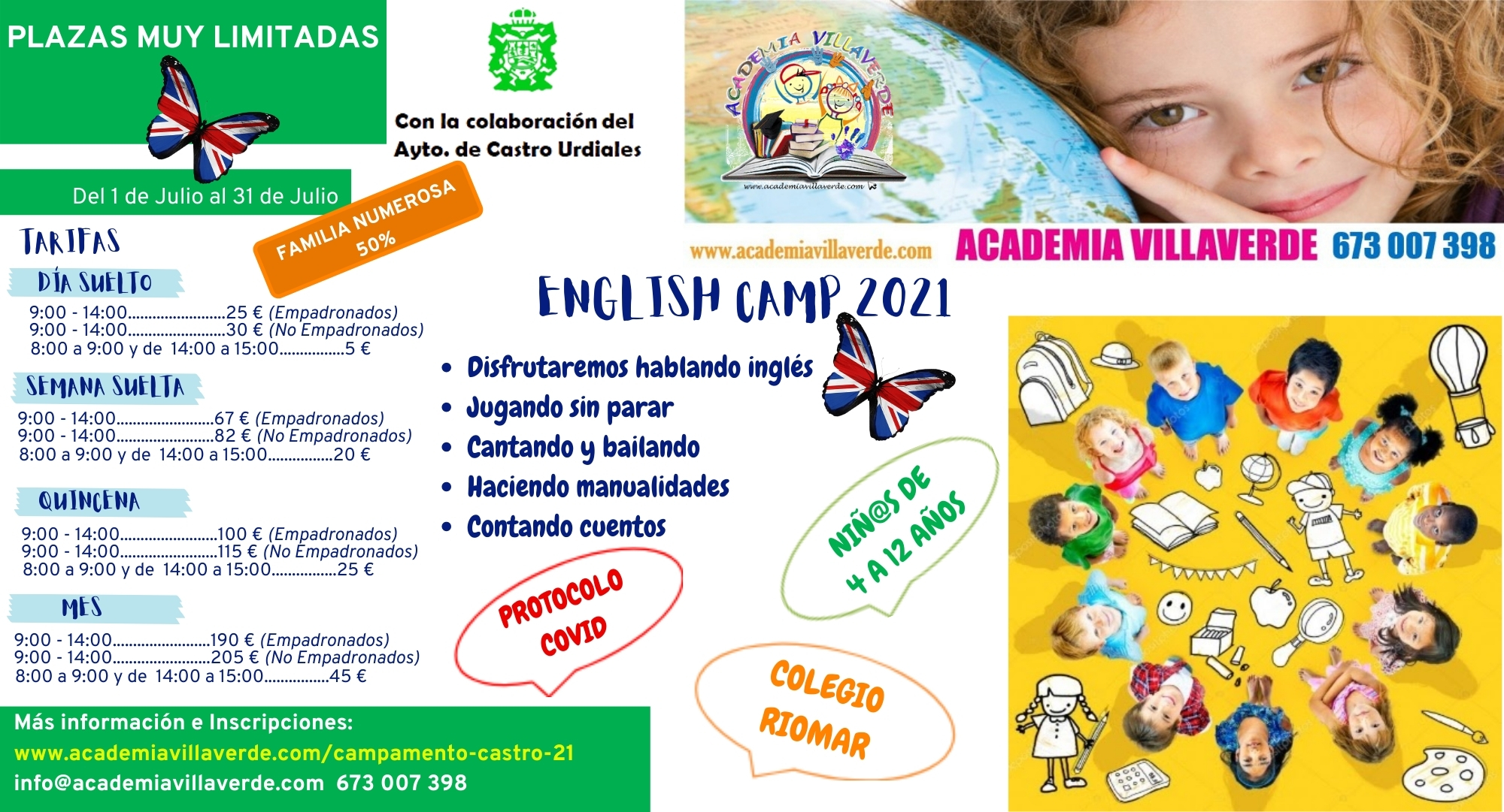 CAMPAMENTO INGLÉS CASTRO URDIALES 2021