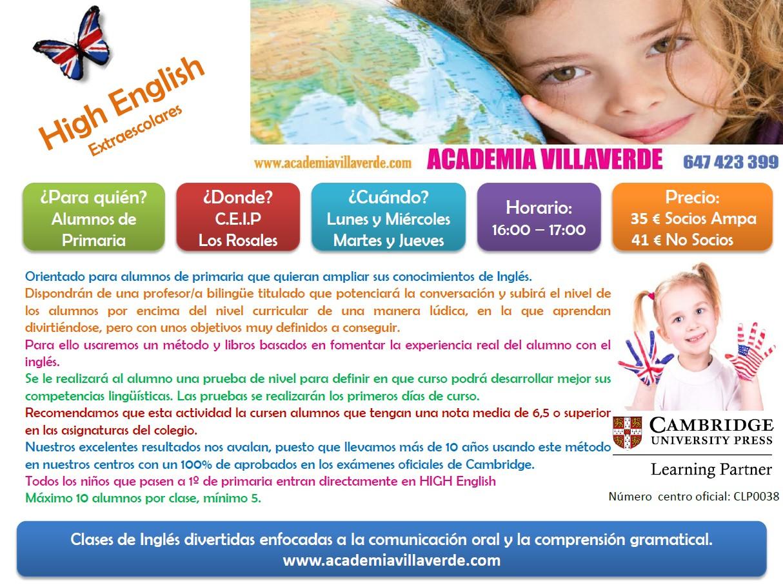 high-english-colegio-losrosales