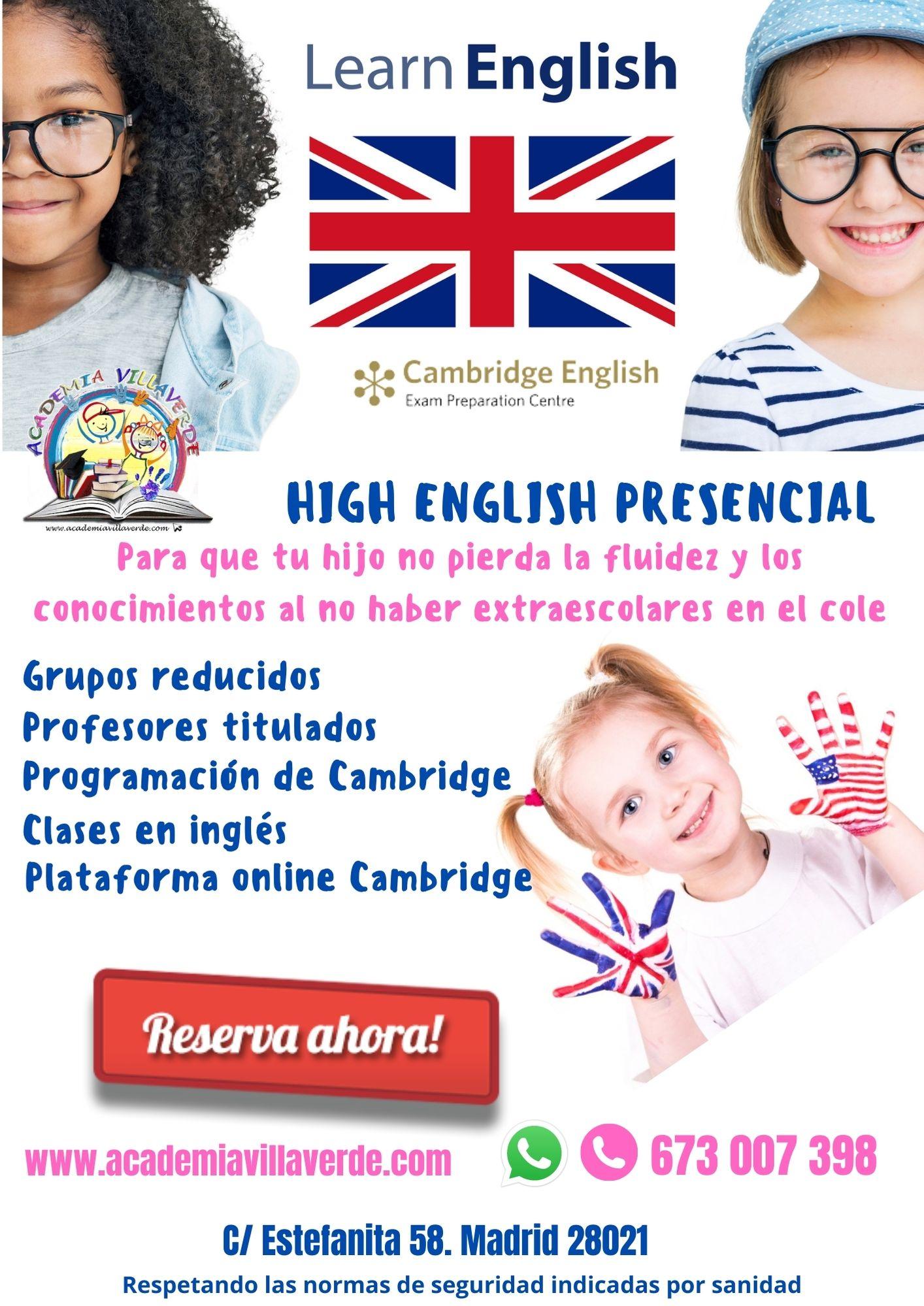 presencial-academia-villaverde-high-english-2020